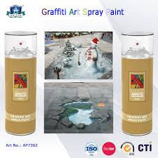Cheap Spray Paint For Graffiti - 400ml canned environmental fast drying graffiti spray art paint