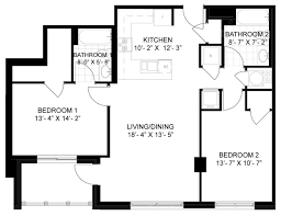 2 bedroom 2 bath floor plans floor plans lakehouse apartments columbia maryland md bozzuto