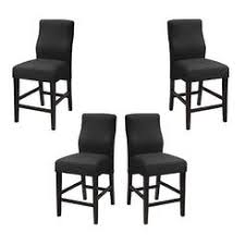 Contemporary Black Dining Chairs Upholstered Dining Chairs With Casters