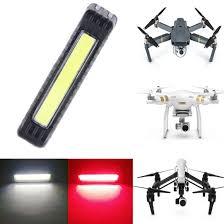 is led light safe toogod drone strobe light red white color 5 modes uav locator led