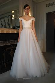 tulle wedding dresses uk the shoulder lace applique tulle a line wedding dress