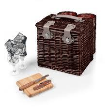 wine picnic basket harmony vino wine picnic basket for two