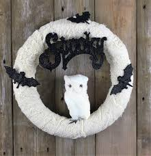 Halloween Door Wreaths Spooky Handmade Halloween Wreath Designs For Your Front Door