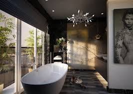 white floor tile for contemporary master bath extravagant home design