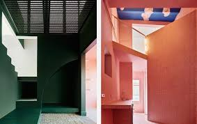 5 interior designers who use colour in radical ways the spaces