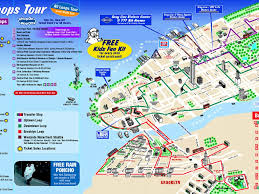 download tour map of new york city major tourist attractions maps