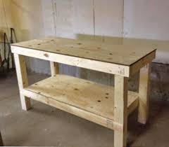 Woodworking Shop Bench Height by Best 25 Diy Workbench Ideas On Pinterest Work Bench Diy Small
