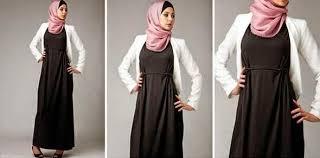 desain baju gamis hamil desain baju hamil muslim modis trend masa kini