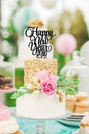 Happy New Year Cake Decorations by Happy New Year Cool Chic Style Fashion