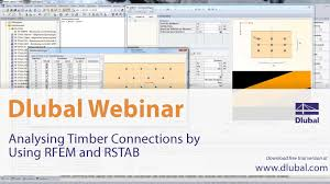 Free Timber Truss Design Software by Dlubal Webinar Analysing Timber Connections By Using Rfem And