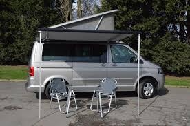 volkswagen california camper used vw t5 t6 california se ocean and beach original sun canopy
