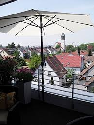 sonnenschirmhalter balkon de 360 balkon sonnenschirmhalter 5 fach