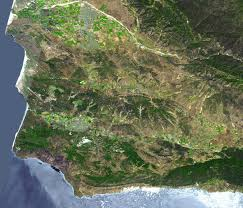 Wildfire Lompoc Ca by Space Images Lompoc Ca