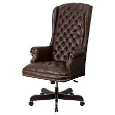 office chair brown leather executive brown leather office chairs a