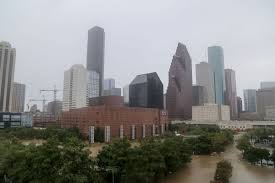 Downtown Houston Tunnel Map Houston Theater District Hit Hard By Harvey Floodwaters Houston