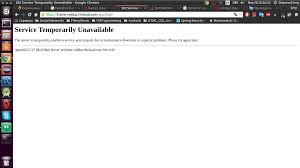 503 Service Temporary Unavailable by Java 503 Error When Starting Web App At Openshift Stack Overflow
