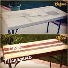 plastic fold out table upcycle a plastic folding table into a chic desk folding tables