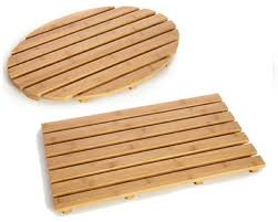 Bath Mat Wood Why Use The Bamboo Bath Mat Design Ideas U0026 Decors