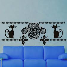 Decoration Cat Wall Decals Home by Online Get Cheap Self Adhesive Wall Decorations Cat Aliexpress