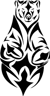 bear paw print stencil free download clip art free clip art