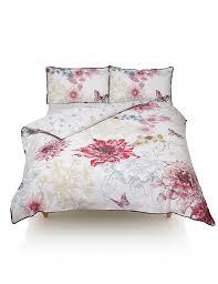 Marks And Spencer Duvet Cover Botanical Floral Print Bedding Set M U0026s