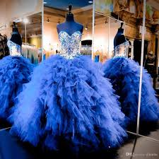 blue quinceanera dresses 2017 royal blue quinceanera dresses sweetheart gown prom