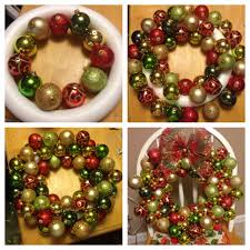 christmas craft a bunch of christmas bulbs to make a super cute