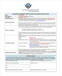 purchase proposal templates 7 free word pdf format download