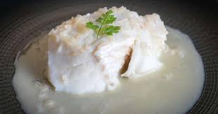 pocher en cuisine dos de cabillaud poché recette par chef simon