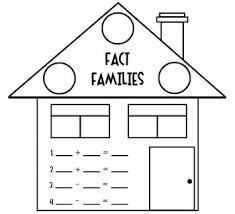 57 best math fact families images on pinterest fact families