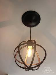 Convert Recessed Light To Pendant Convert A Recessed Light Into Pendant Fixture And Replace With