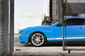 Muscle Car Rims - car blue cars ford ford mustang shelby gt500 coupe rims