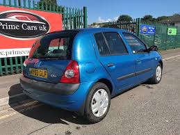 2003 03 renault clio 1 4 16v expression 5dr petrol 5 speed manual