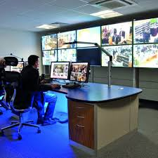 Control Room Desk Security Consoles And Control Room Furniture Thinking Space Systems