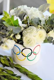 go for the gold with an olympics themed kids party project nursery