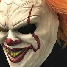 halloween h20 mask for sale super deluxe pennywise latex clown mask by tony buck it horror