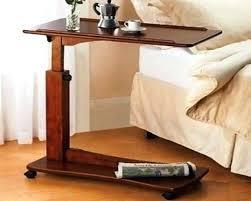 hospital bed tray table bedside tray table mobile wooden hospital bedside tray bed table
