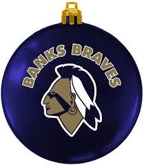 ornament fundraiser banks braves basketball