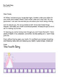 printable tooth fairy letter u2014 tooth is missing