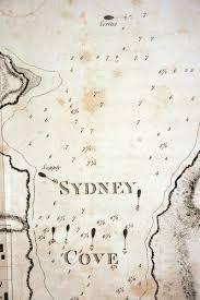 antique mapart 1789 w dawes u0027sketch of sydney cove port