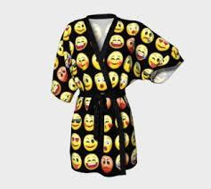 emoji robe emoji smiley faces collection by sandyspider gifts designs shop