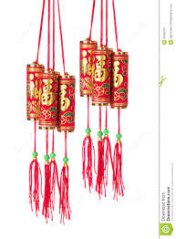 Lunar New Year Decorations by Chinese New Year Decorations Royalty Free Stock Photography