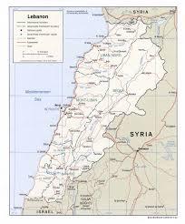 Map Of Al The Lebanon Com Lebanon Map Of Lebanon