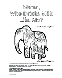 milk coloring pages mama u0026 me coloring book of mama who drinks milk like me melissa