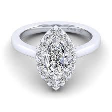 marquise halo engagement ring 14k white gold marquise halo engagement ring er7495m4w44jj