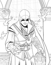 assassin u0027s creed the official coloring book book by insight