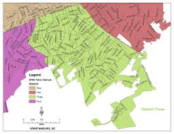 Austin City Council District Map by City Of Spartanburg South Carolina Police Department Organization