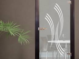 wohnzimmer glastür glasdekor glastür aufkleber fensterfolie für wohnzimmer streifen