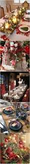 Easy Simple Christmas Table Decorations Best 25 Christmas Tables Ideas On Pinterest Christmas