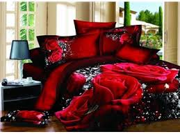 White And Red Comforter Unique Design 3d Bedding U0026 3d Comforter Covers Sets Online Sale
